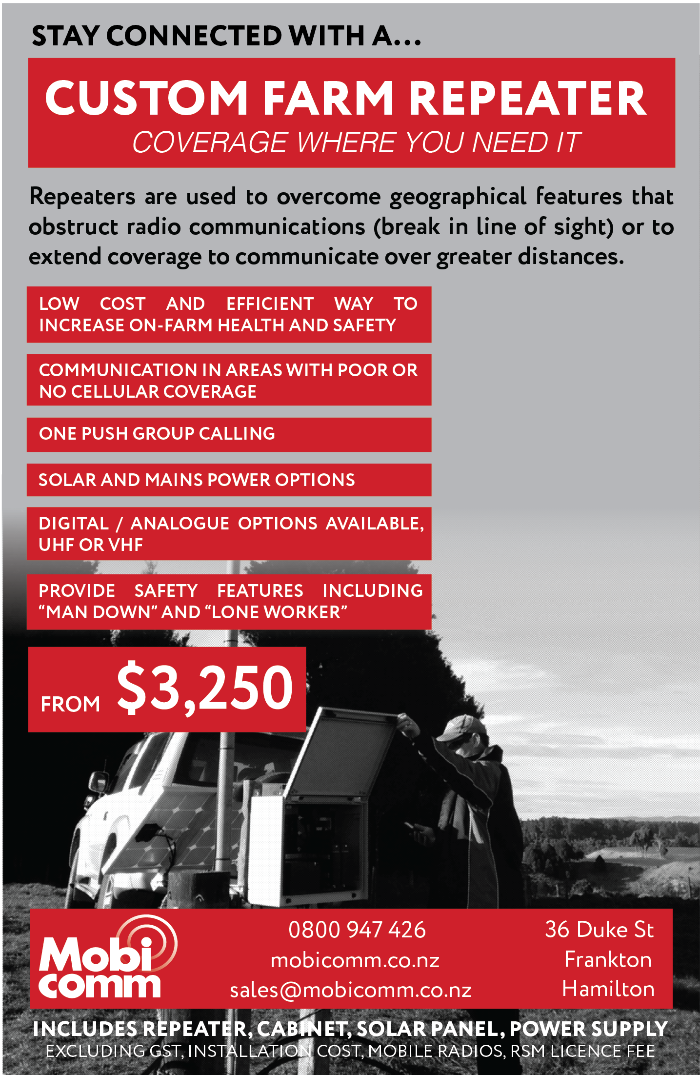 features of radio communication